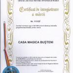 Certificat de inregistrare a marcii