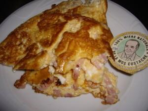 omleta cu sunca la mic dejun-casa magica busteni